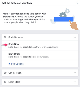 integration integrate a supersaas schedule into your facebook page